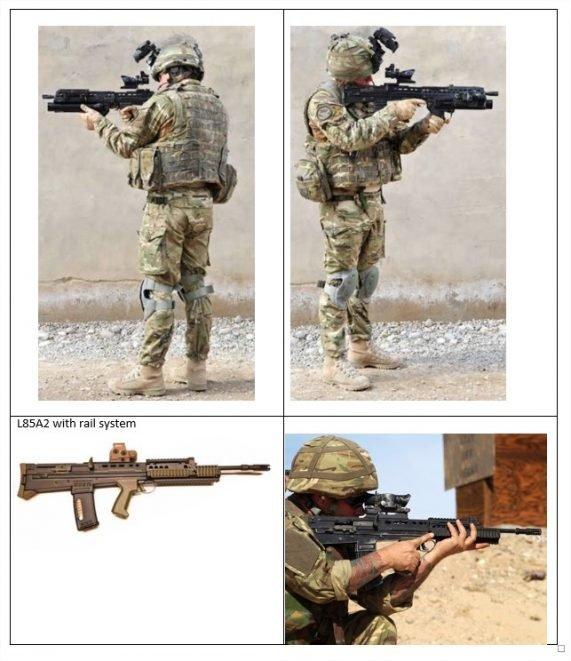 referencia para modelar miniatura de soldado uk otan