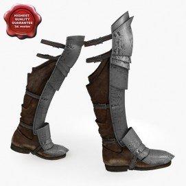 botas medievales