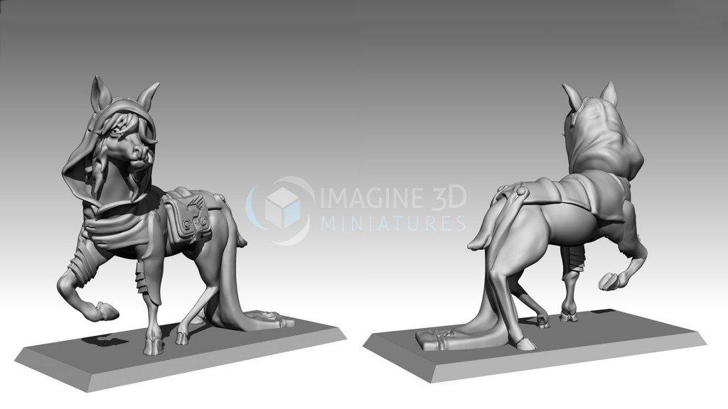 prototipo miniatura 3D ciervo