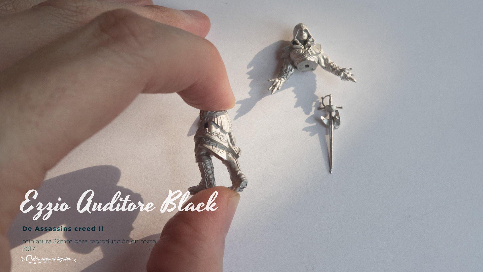 ezio auditore miniatura metal