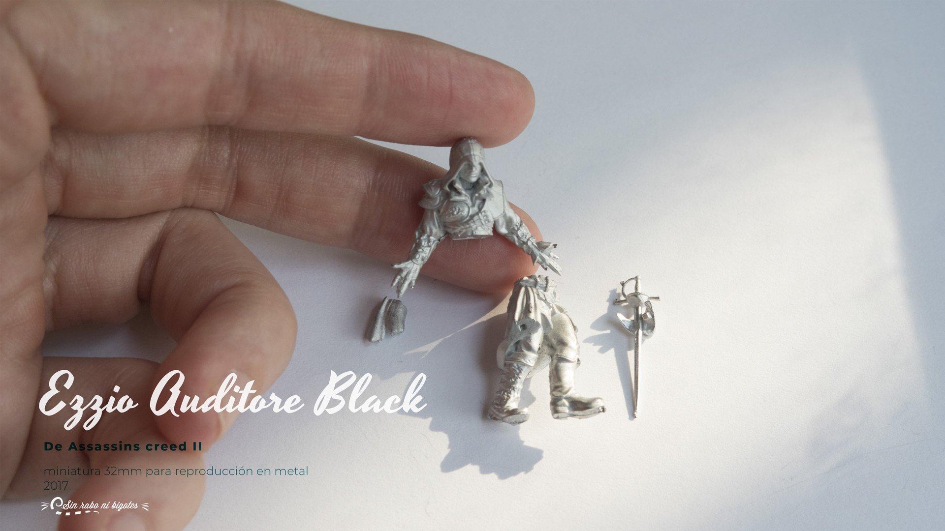 ezio auditore miniatura metal por piezas
