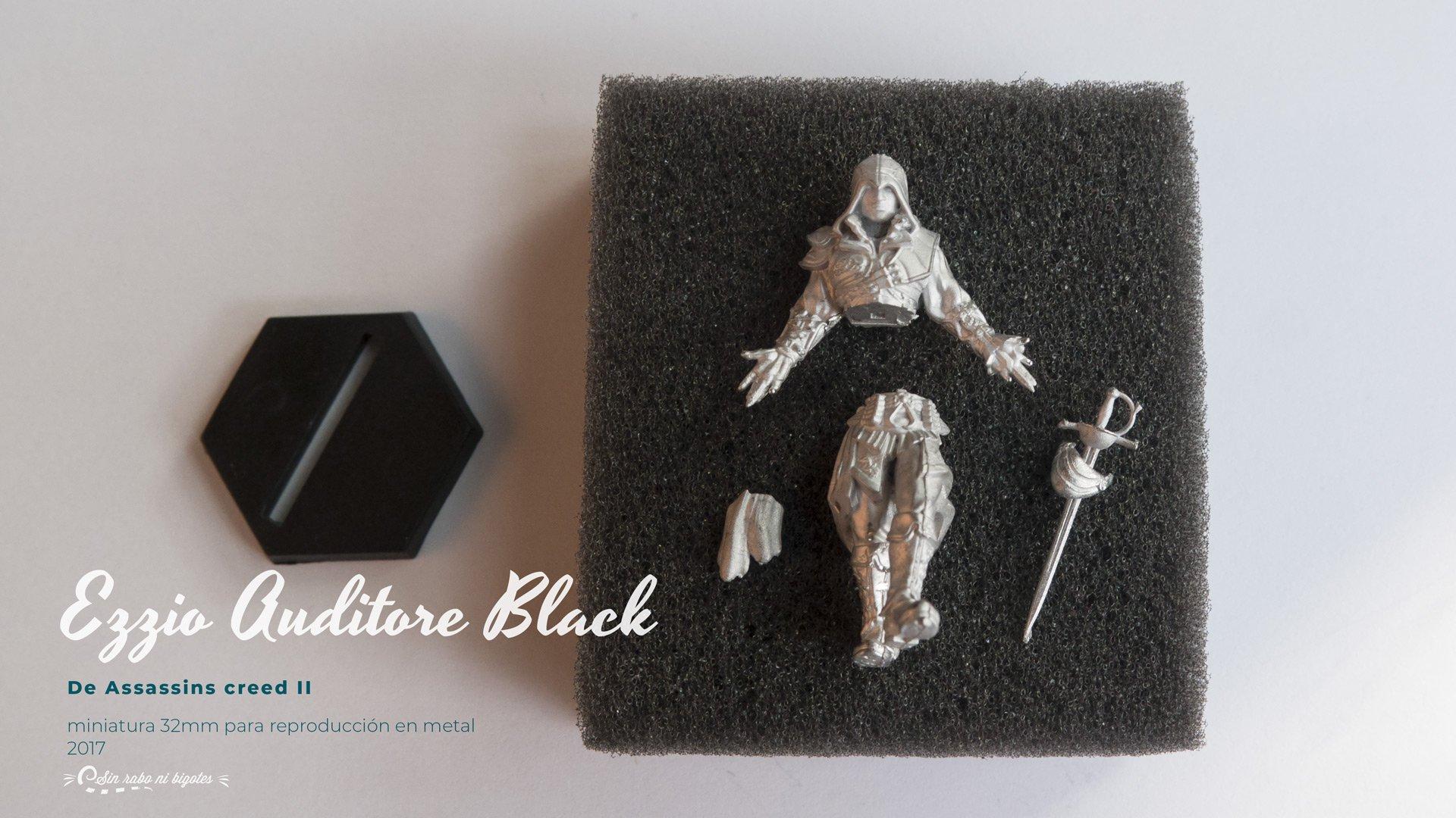 prototipo ezio auditore miniatura metal