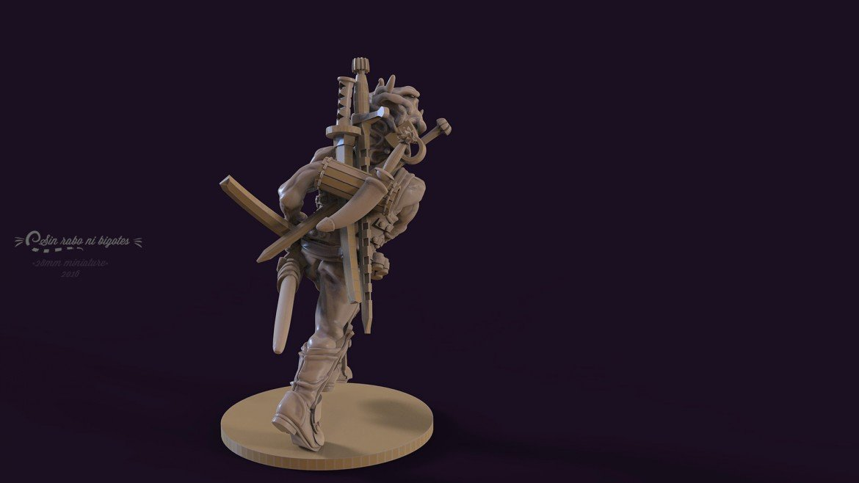 miniatura personalizada swordmaster